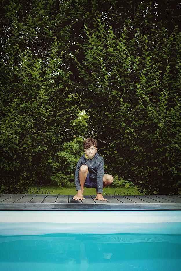 Fotografování dětí lifestyle doma u bazénu M18 č