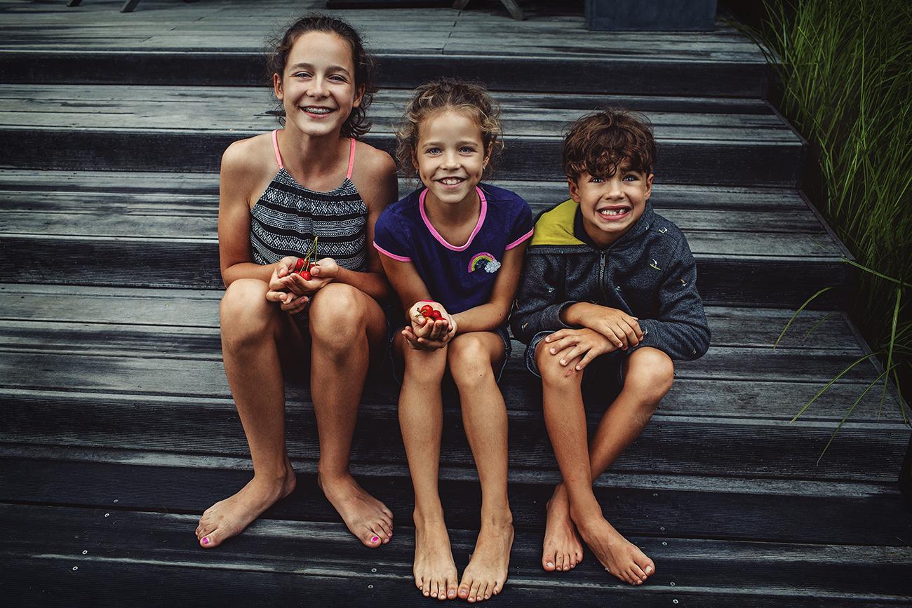 Fotografování dětí lifestyle doma u bazénu S19 c
