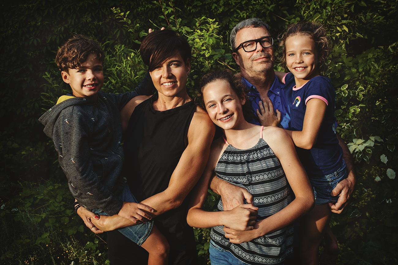 Fotografování rodin lifestyle doma u bazénu S24 b