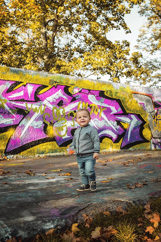 Fotografování rodiny s miminem v parku lifestyle 1b