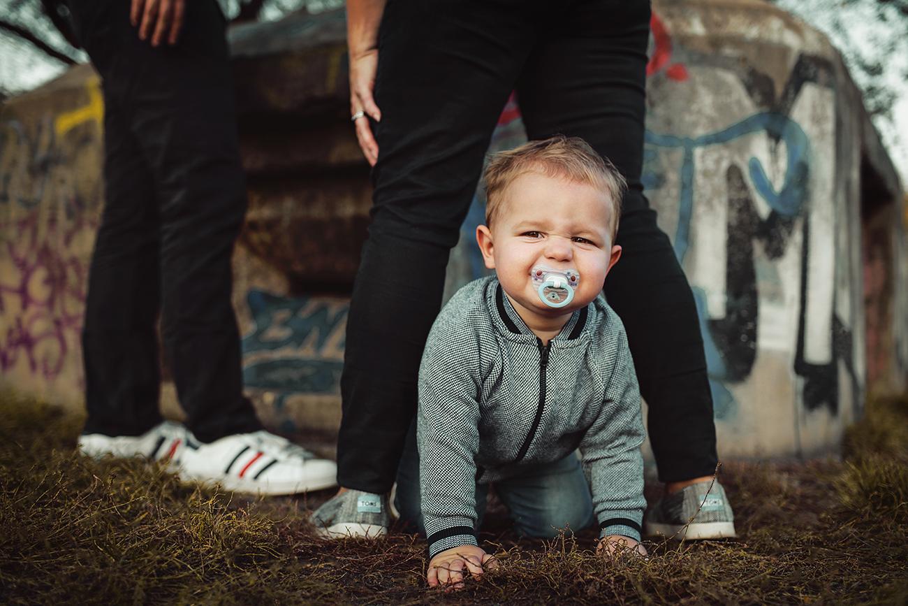 Fotografování rodiny s miminem v parku lifestyle 6