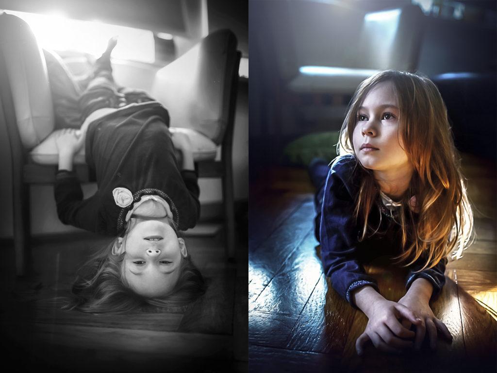 Focení dětí lifestyle v domácím prostředí 3