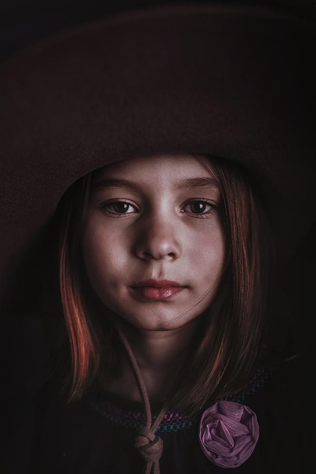 Portrétní fotografie dětí v ateliéru 2