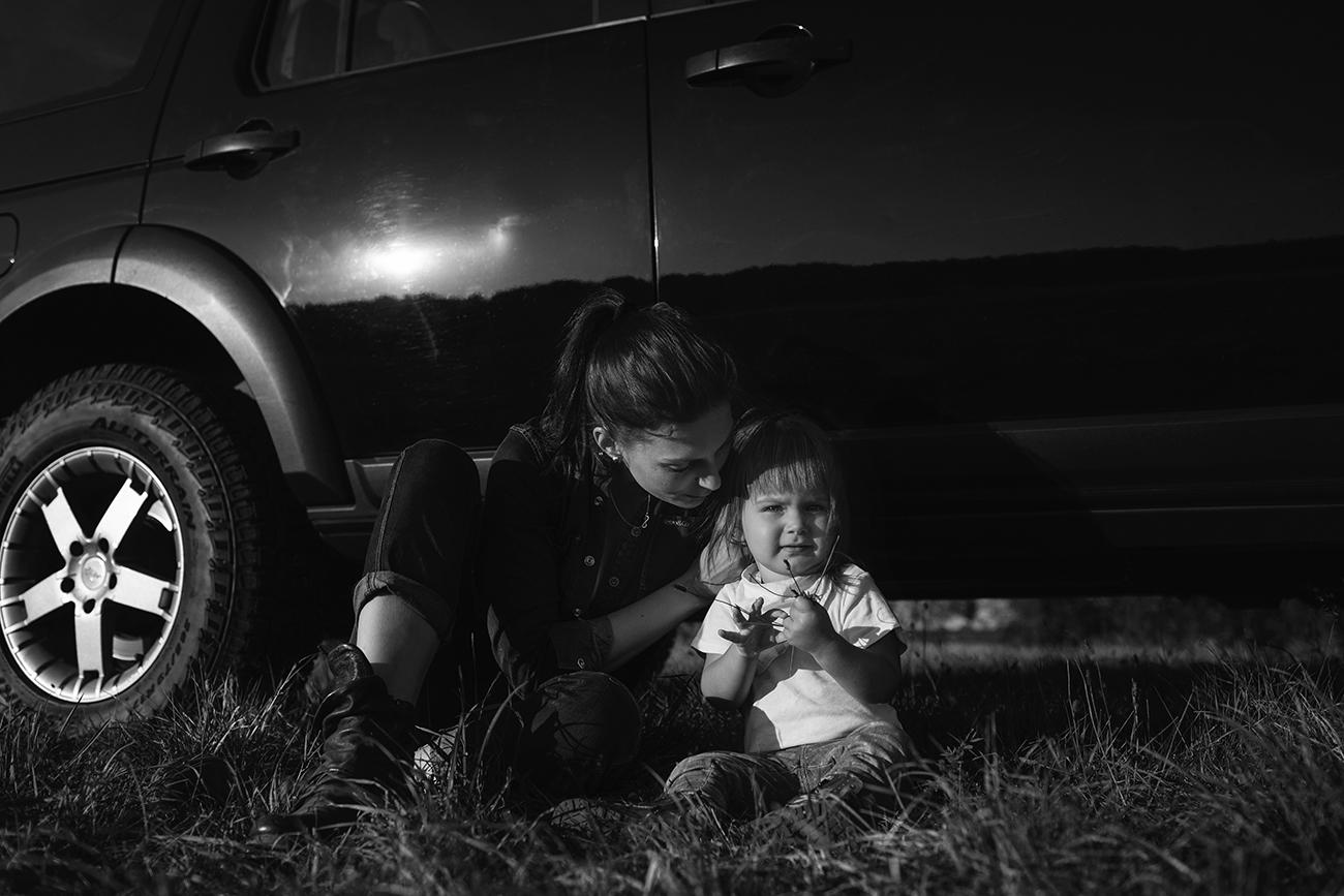 Lifestyle focení maminky s dětmi 13