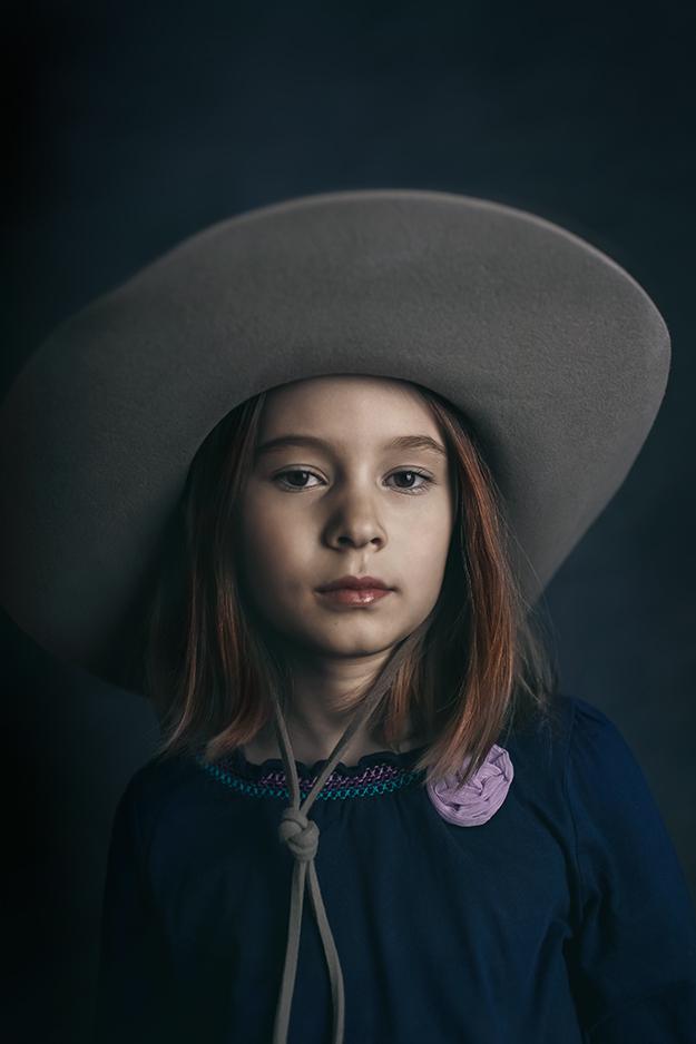 Portrétní fotografie dětí v ateliéru 1