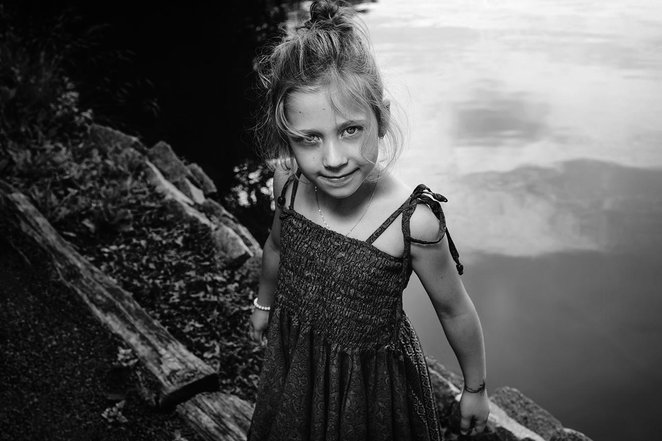 focení dětí venku v přírodě B5 čb