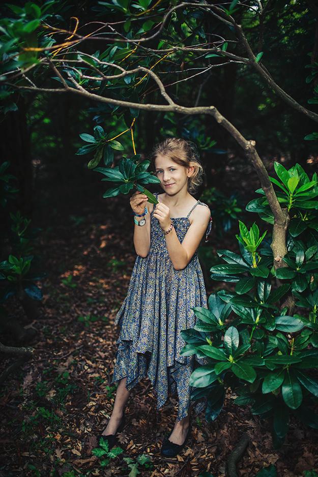 focení dětí venku v přírodě B6