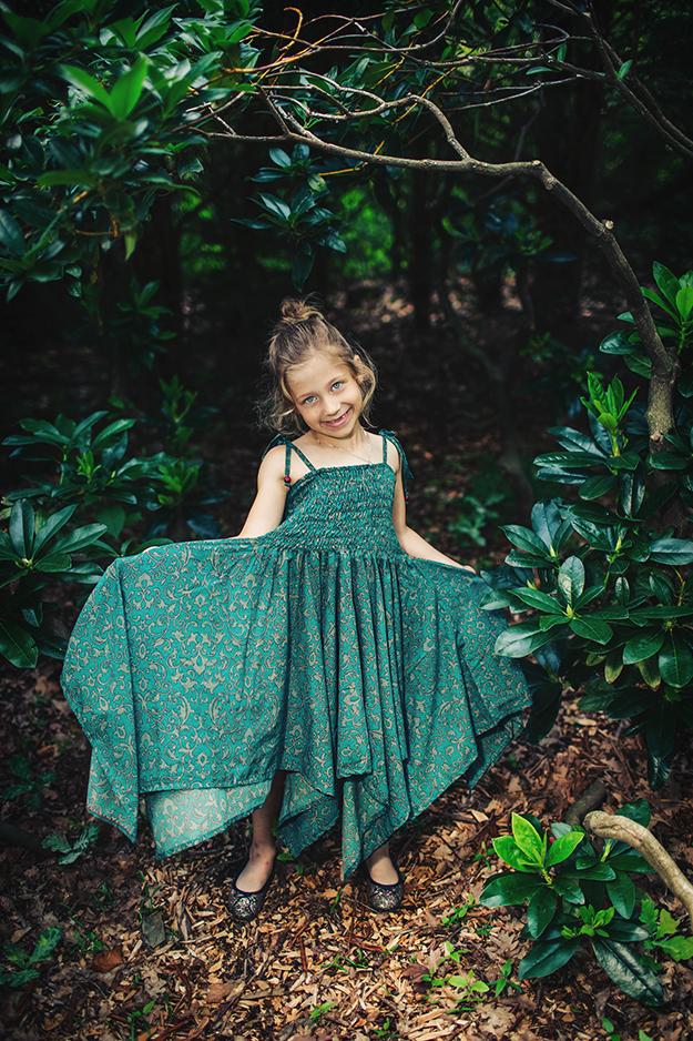 focení dětí venku v přírodě B7